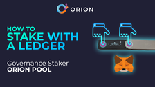 How to Stake with a Ledger