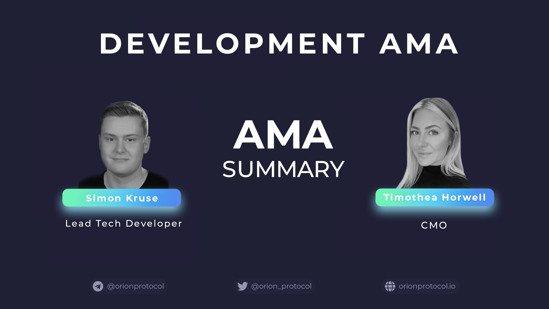 Development AMA
