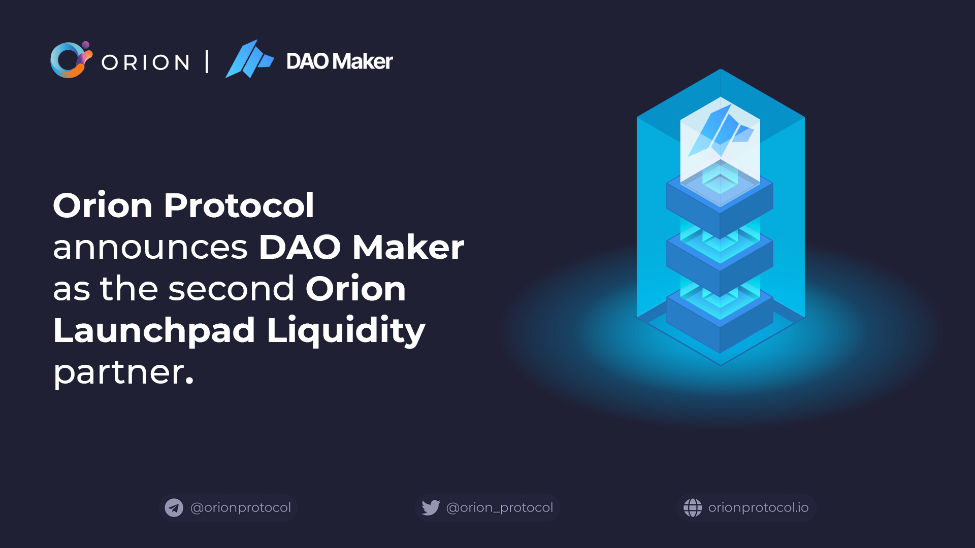 DAO Maker is second Launchpad Liquidity partner