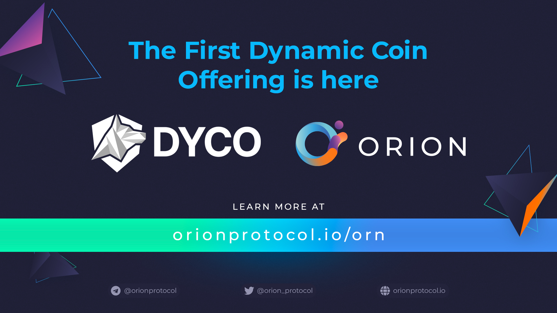 The first Dynamic Coin Offering is here.