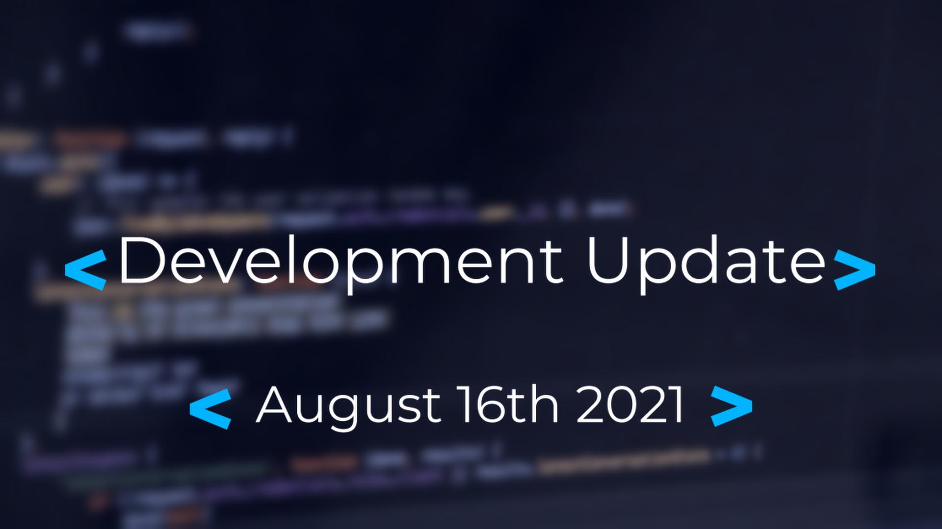 Orion: Development Update