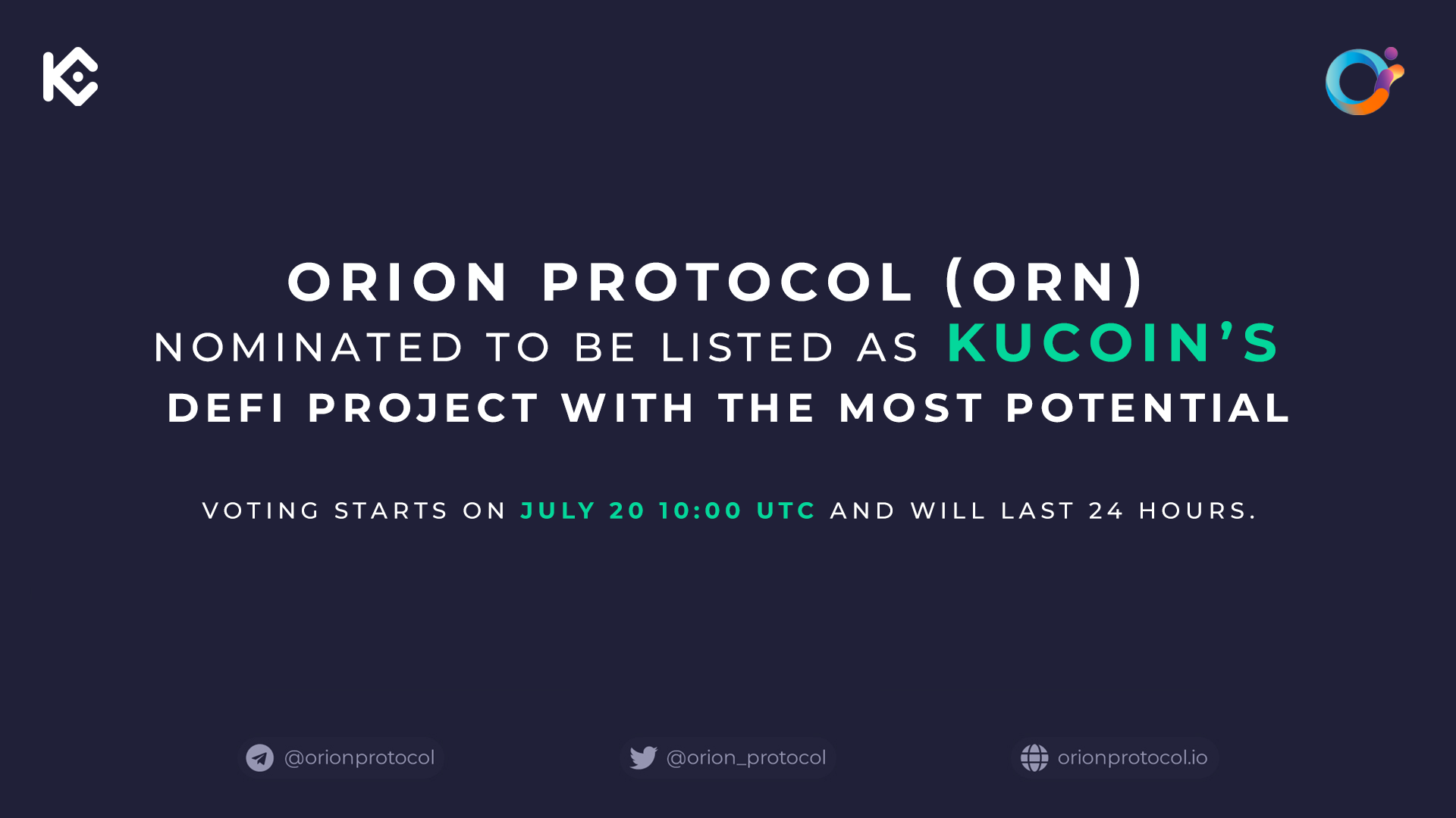 Orion: KuCoin's DeFi Project With the Most Potential?