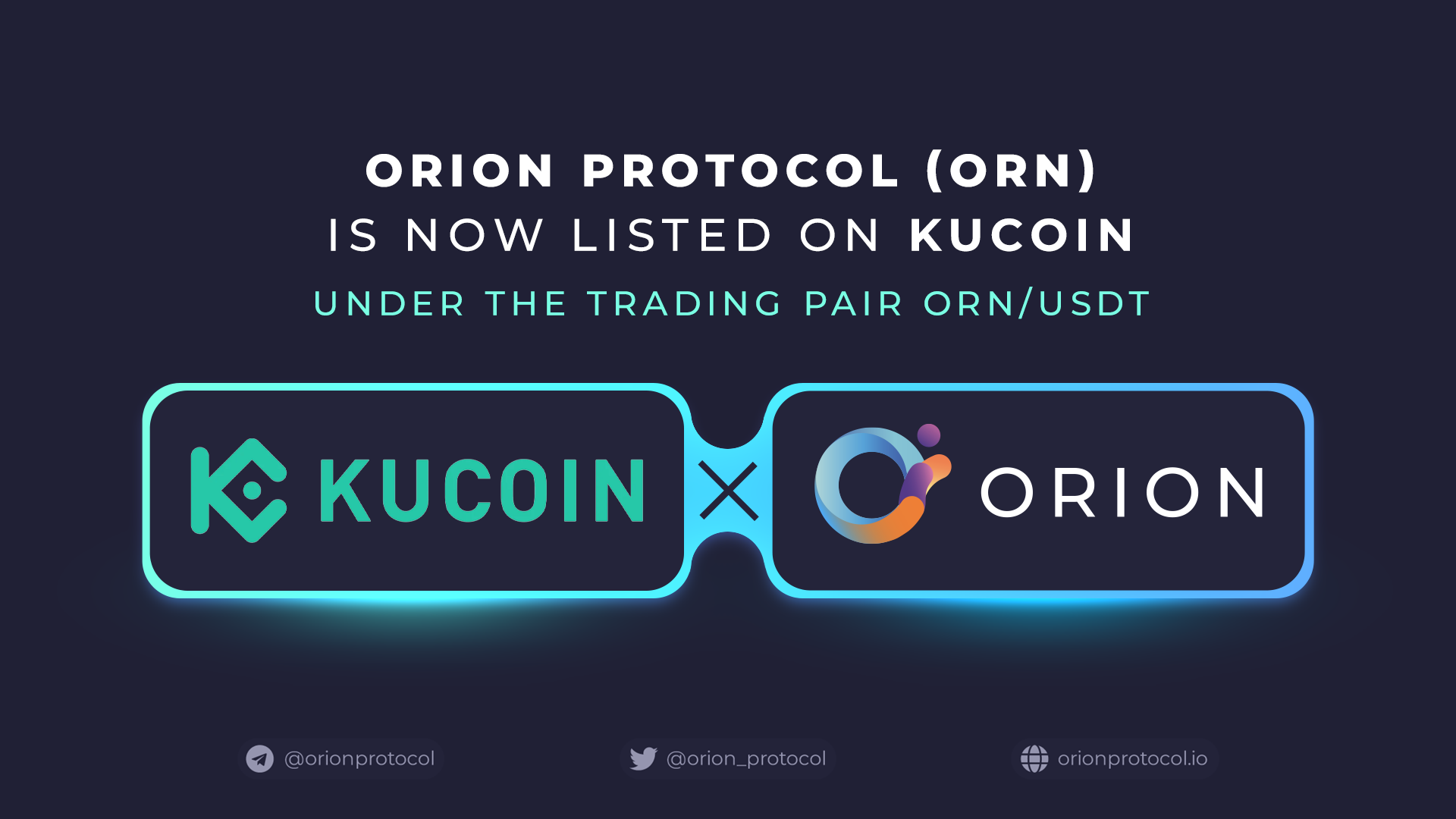 ORN's Listing on KuCoin