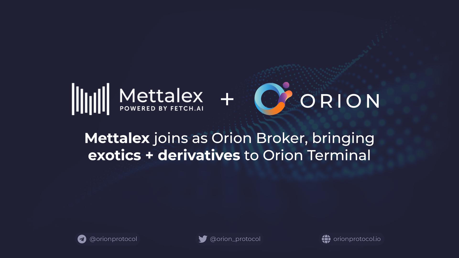 Mettalex joins as a Broker