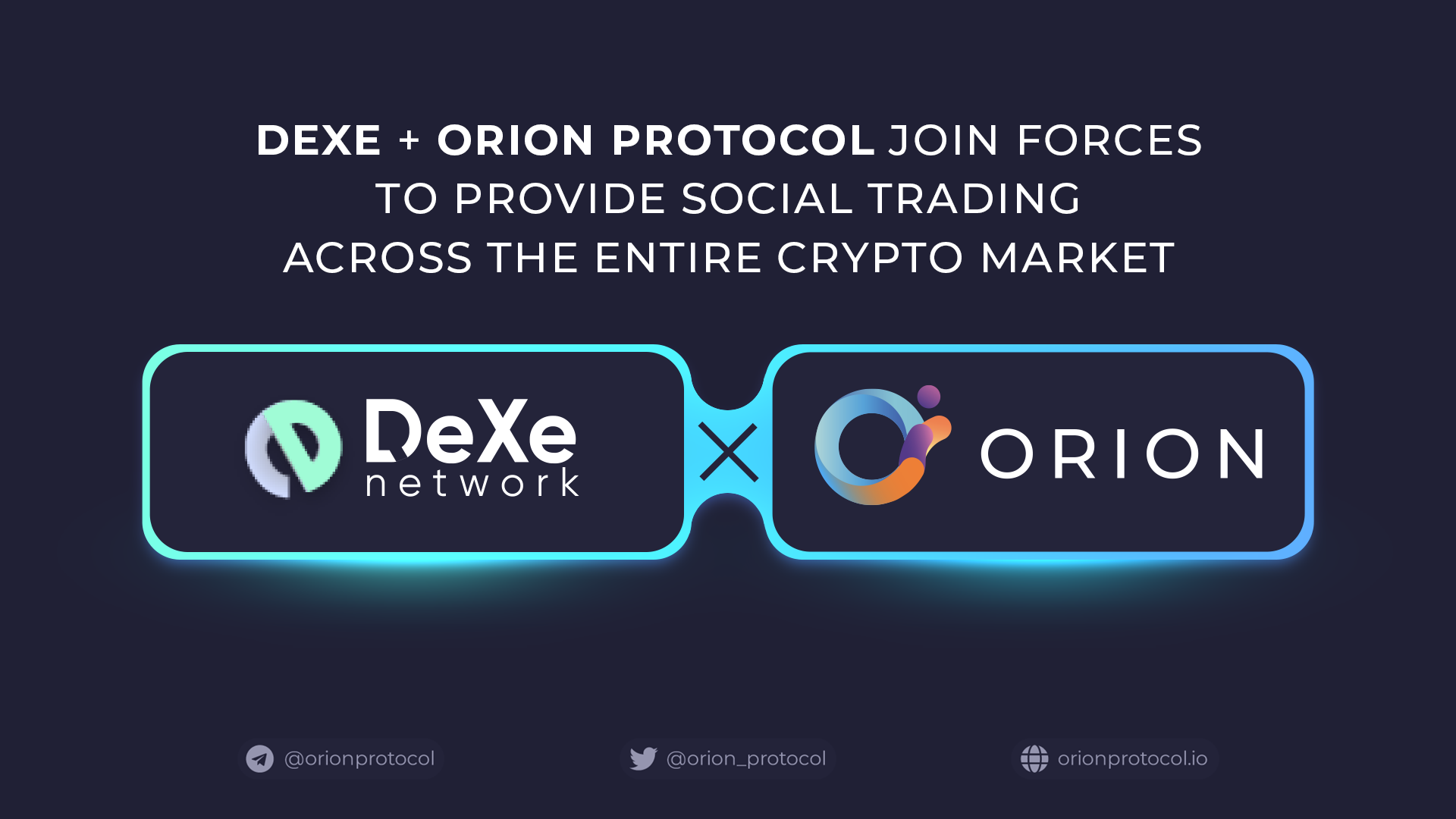 Orion Partners With DeXe