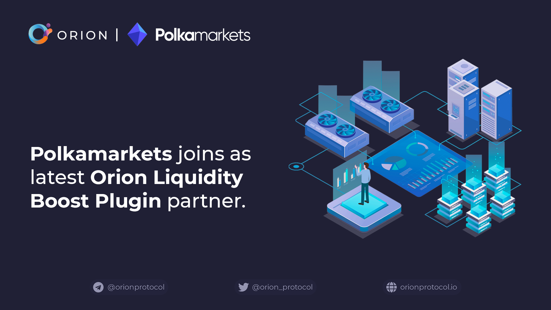Polkamarkets joins as Liquidity Boost Plugin partner