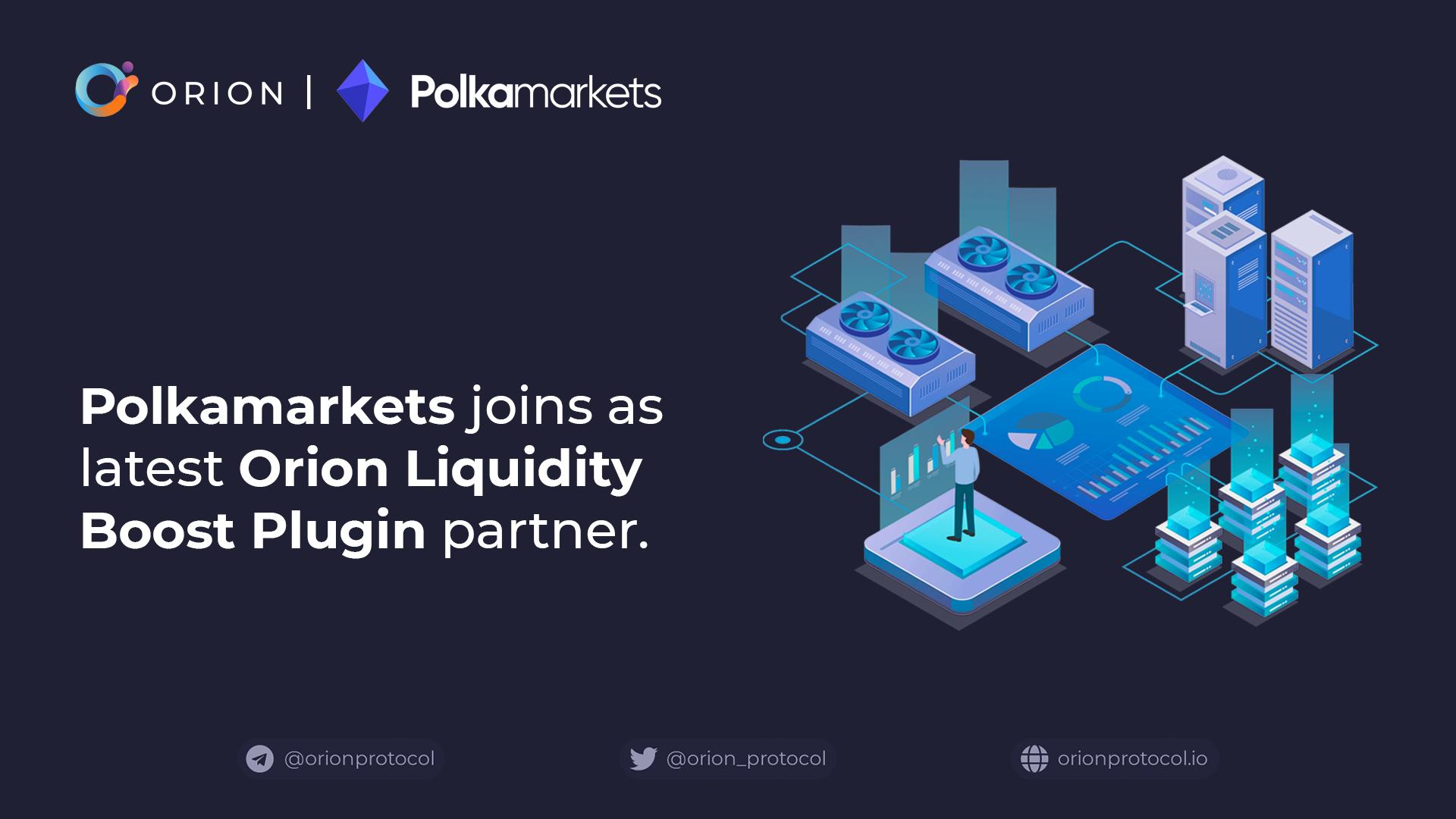 Polkamarkets joins as Liquidity Boost Plugin partner