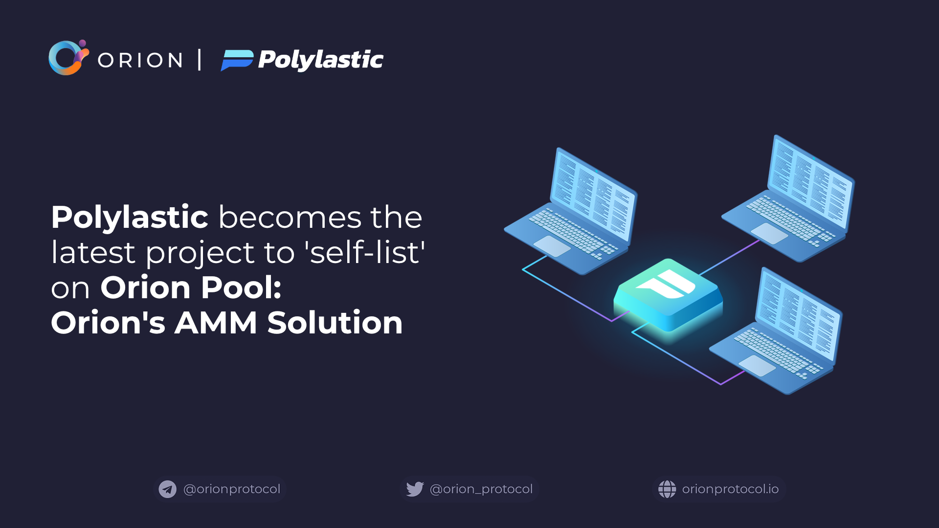 Polylastic to 'self-list' on Orion Pool