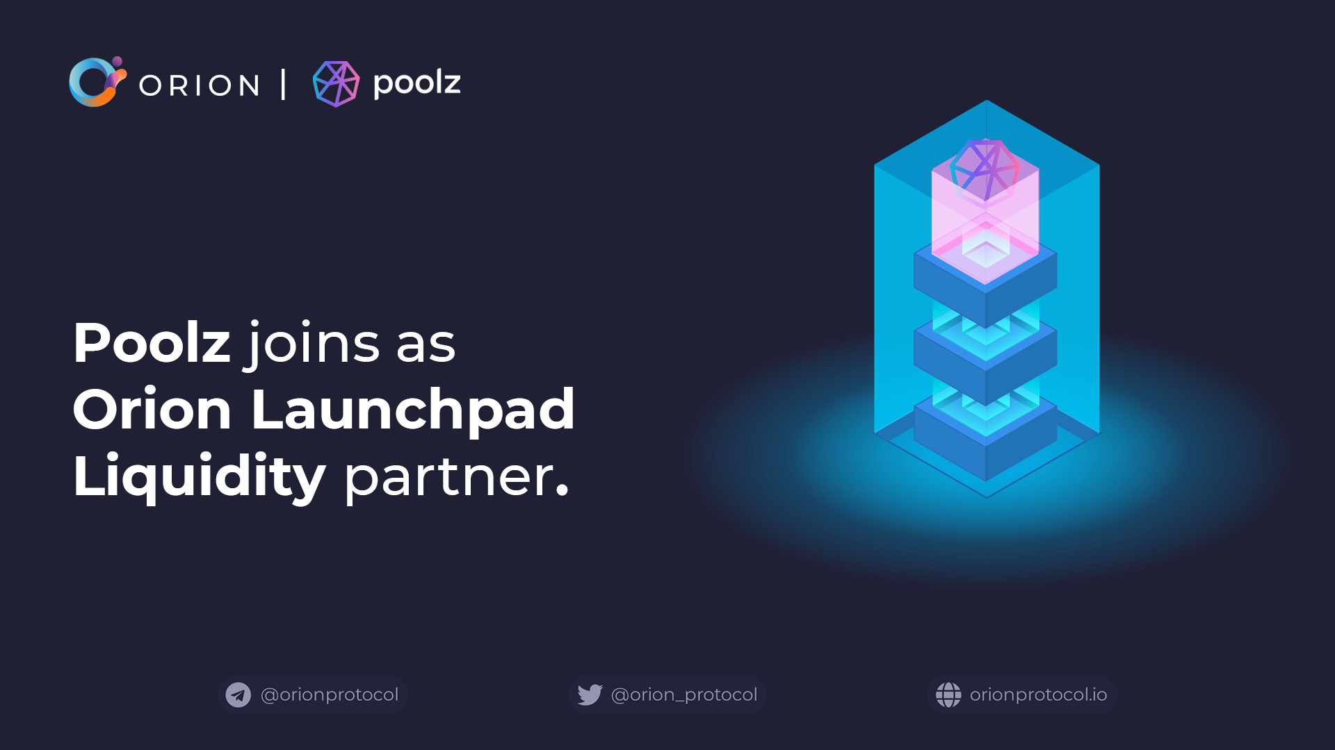 Poolz joins as Launchpad Liquidity partner