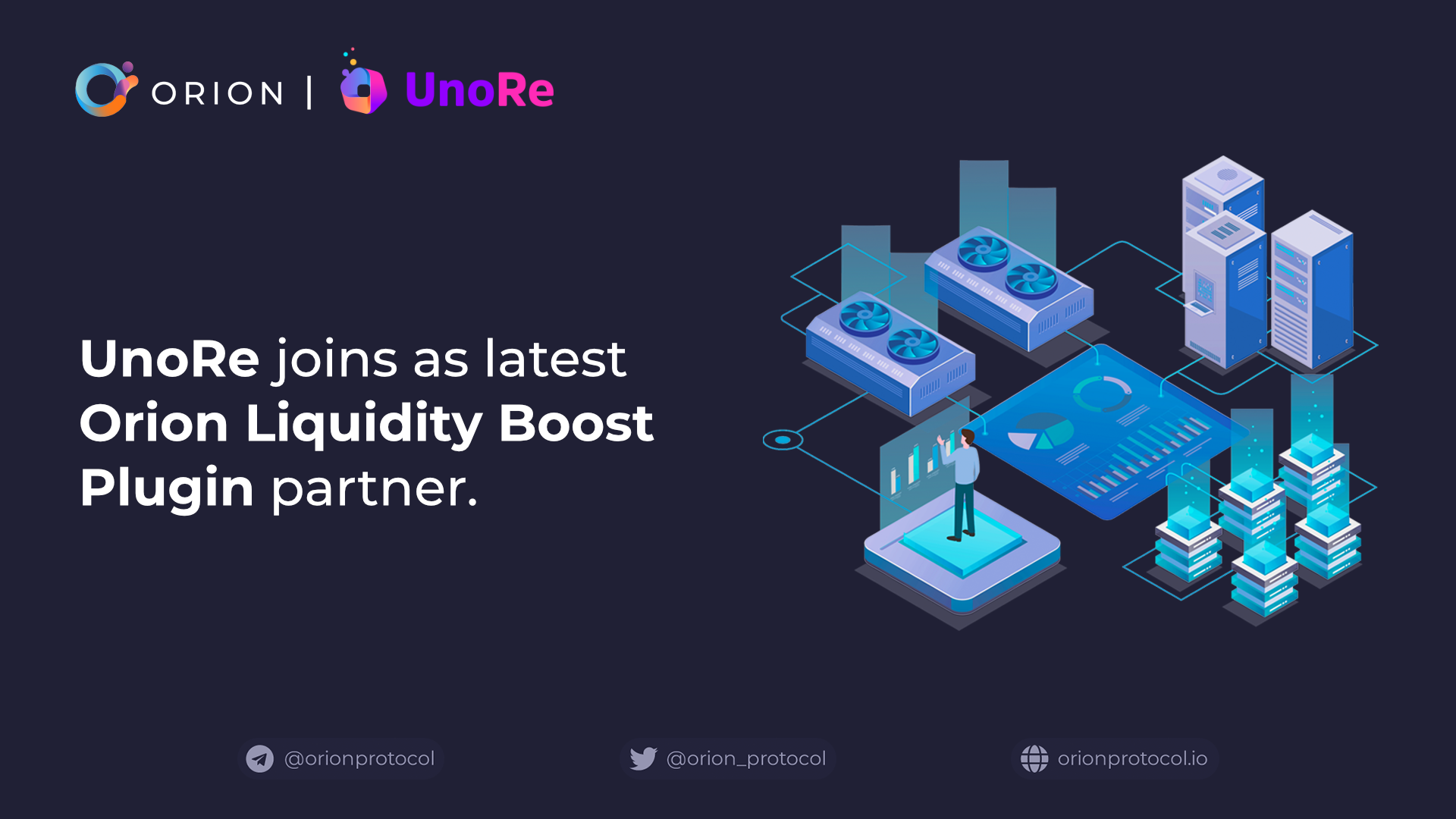 UnoRe joins as Orion Liquidity Boost Plugin partner