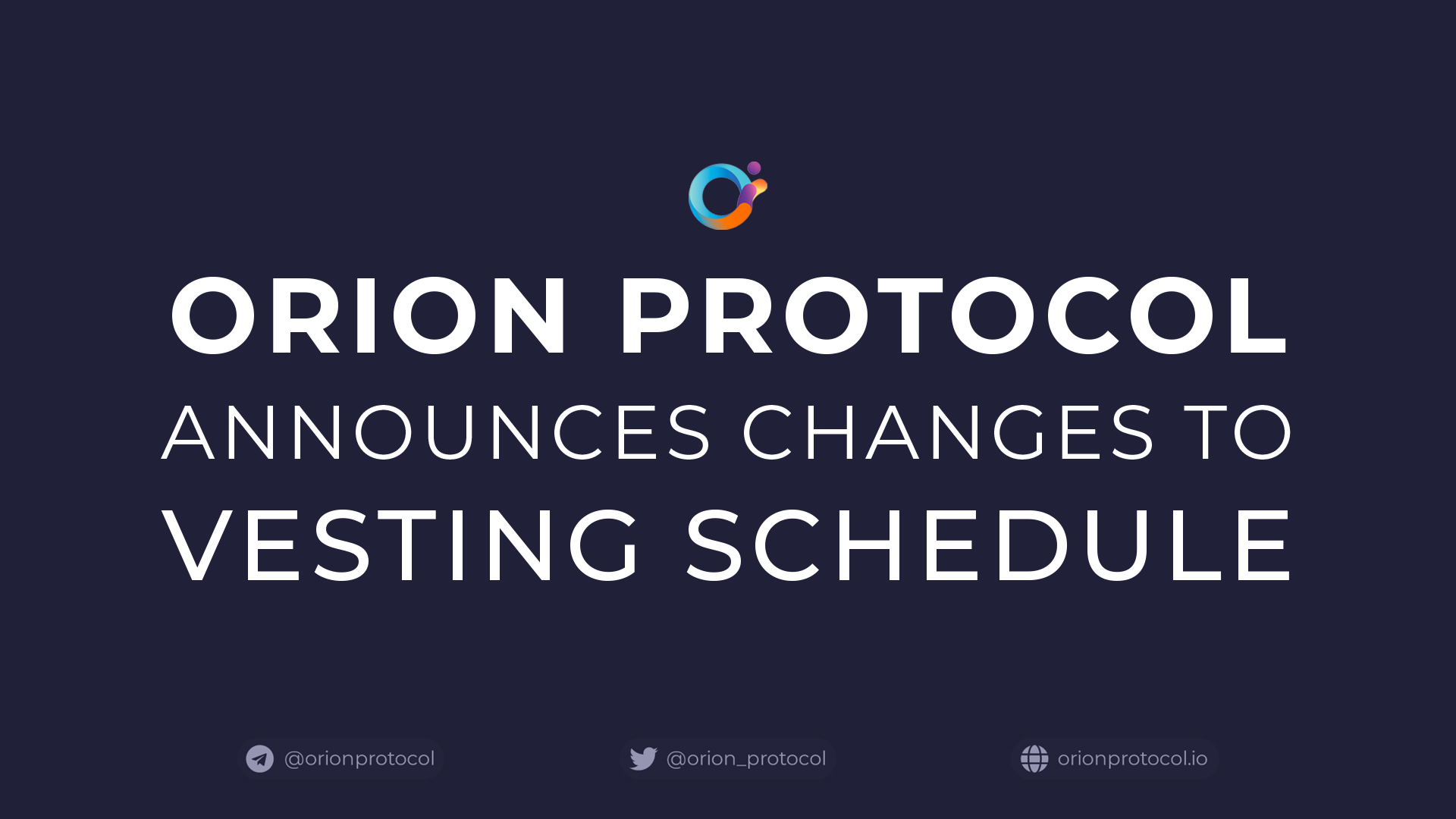 Private Sale Vesting Schedule Changed