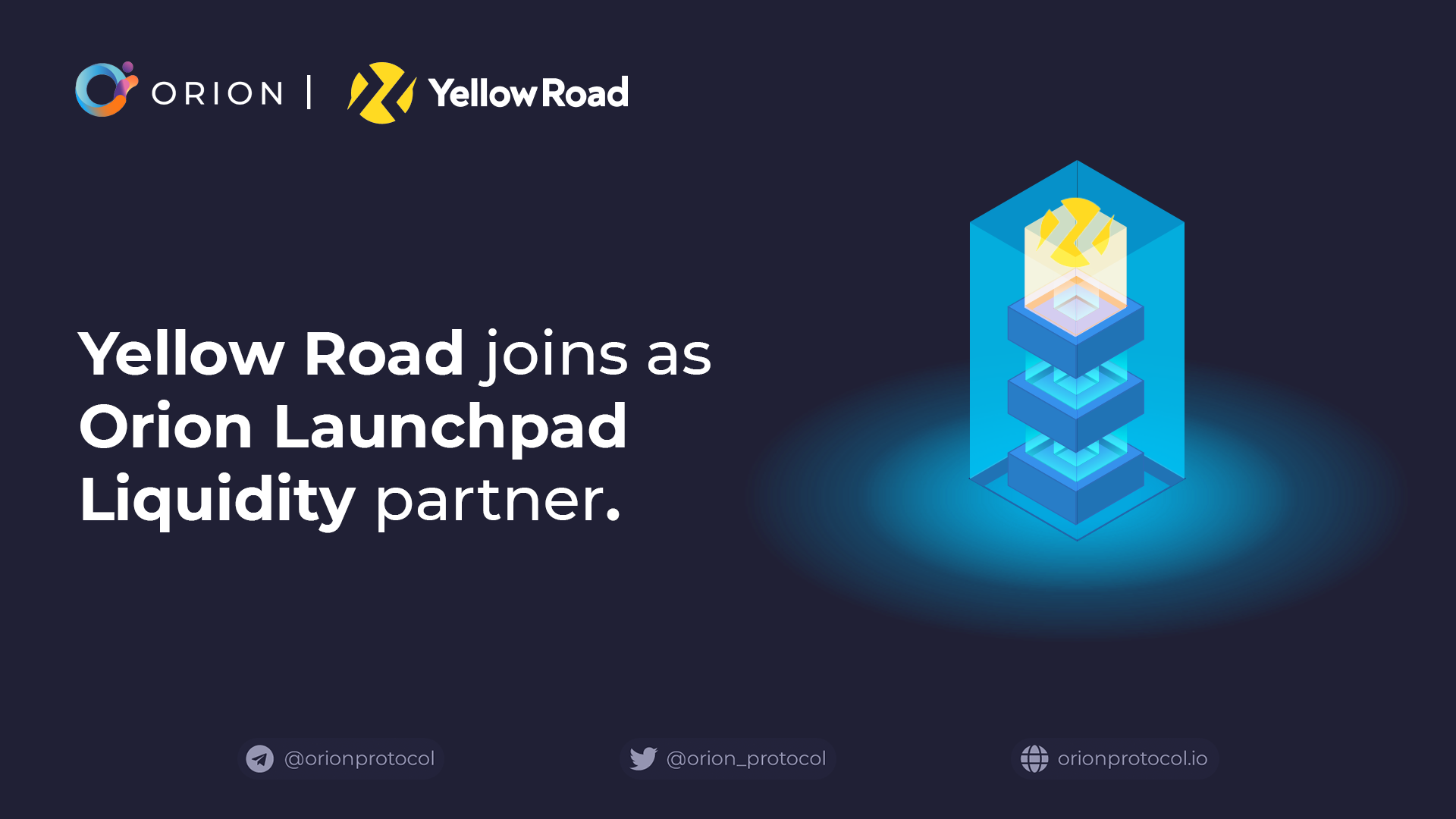 YellowRoad joins as Launchpad Liquidity partner