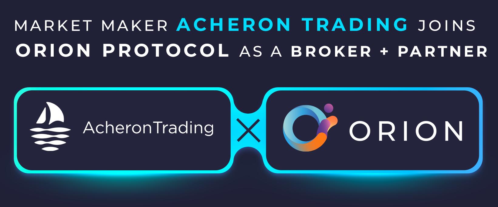 Acheron Joins Orion Protocol