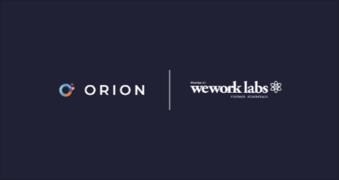 Orion joins as a founding member of WeWork Blockchain Labs