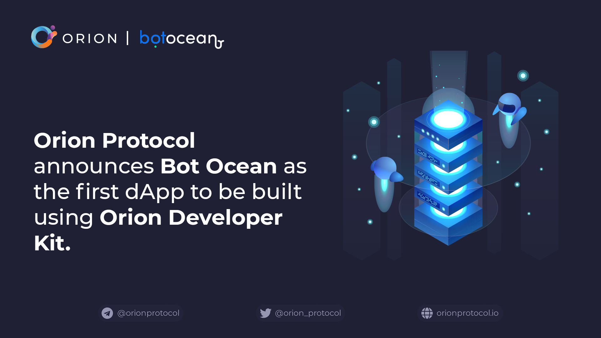 Bot Ocean: the first dApp on Orion Protocol