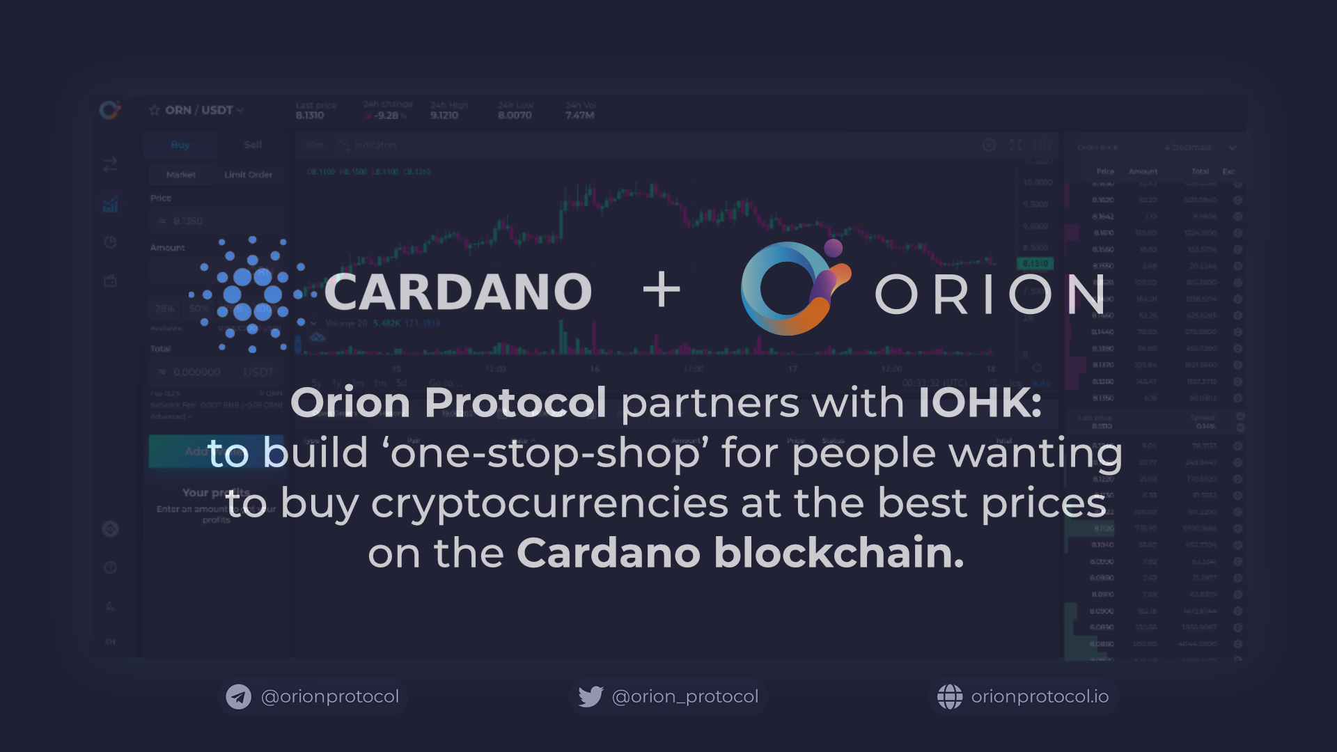 Orion to bring one-stop crypto marketplace to Cardano