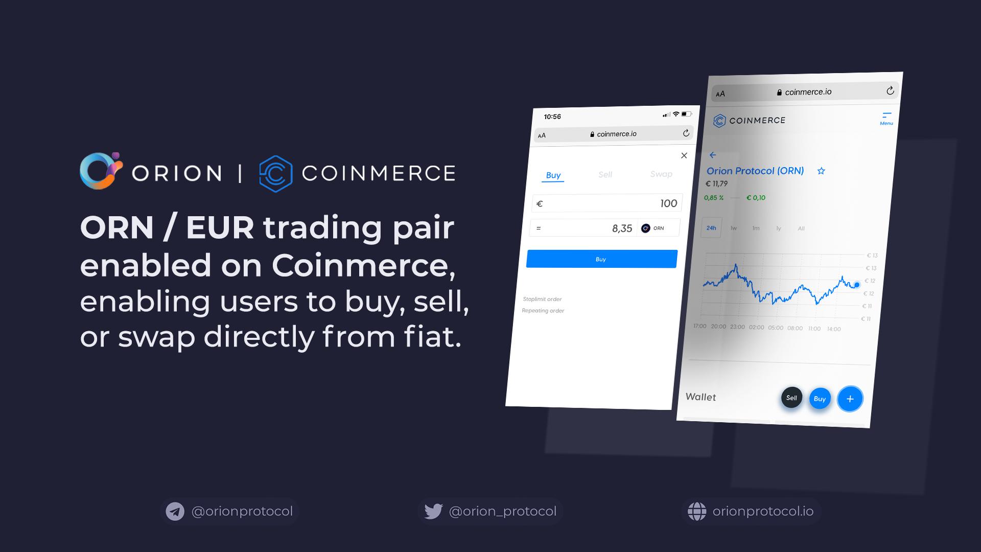 ORN / EUR on Coinmerce