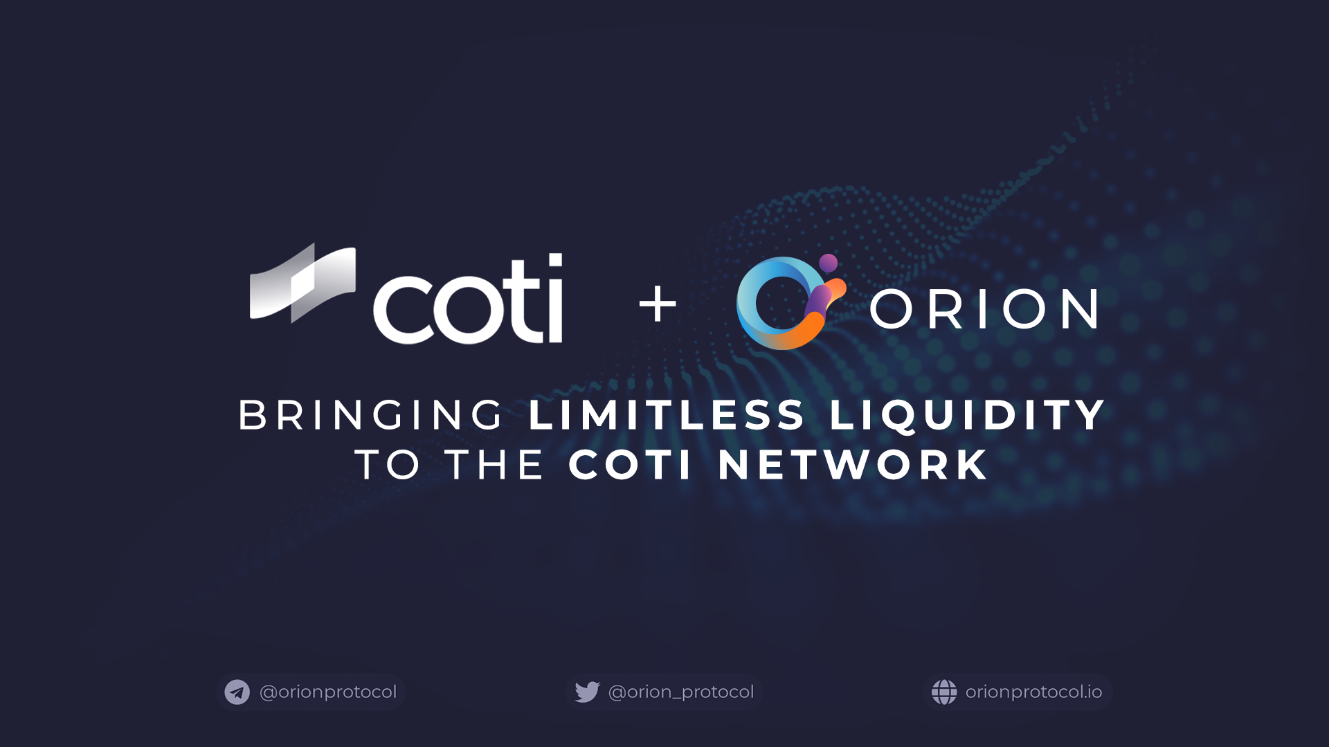 COTI joins as Liquidity Boost Plugin Partner