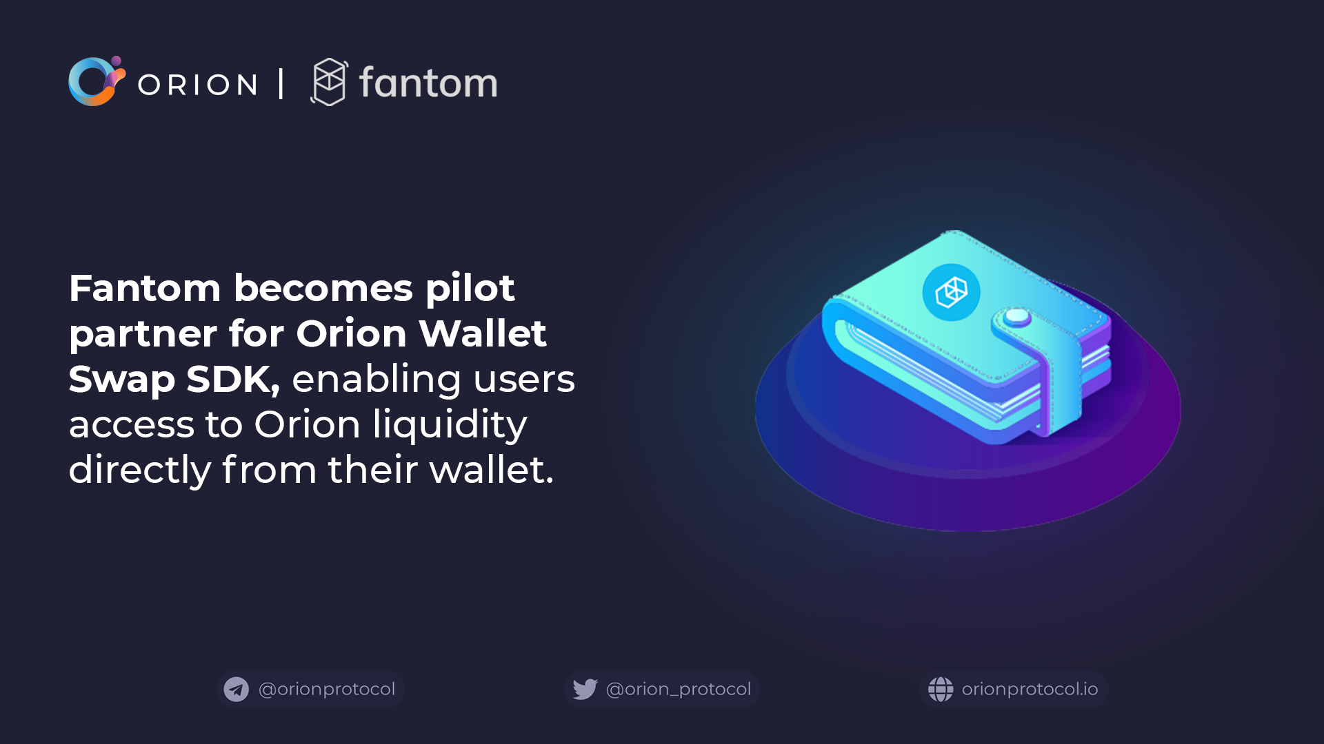 Fantom joins as Wallet SDK partner