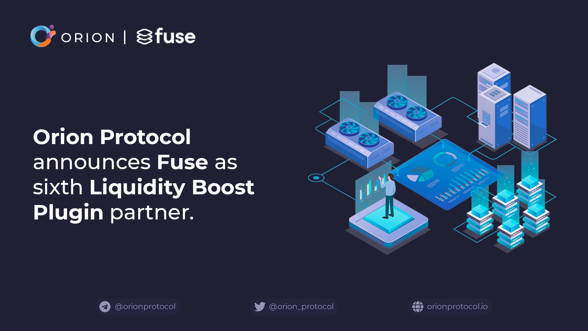 Fuse joins as Liquidity Boost Plugin partner