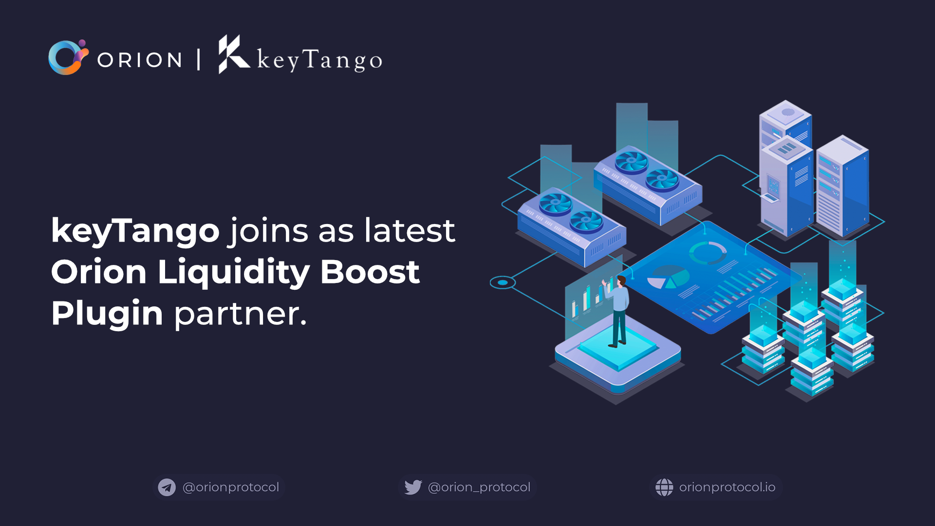 KeyTango joins as Liquidity Boost Plugin partner