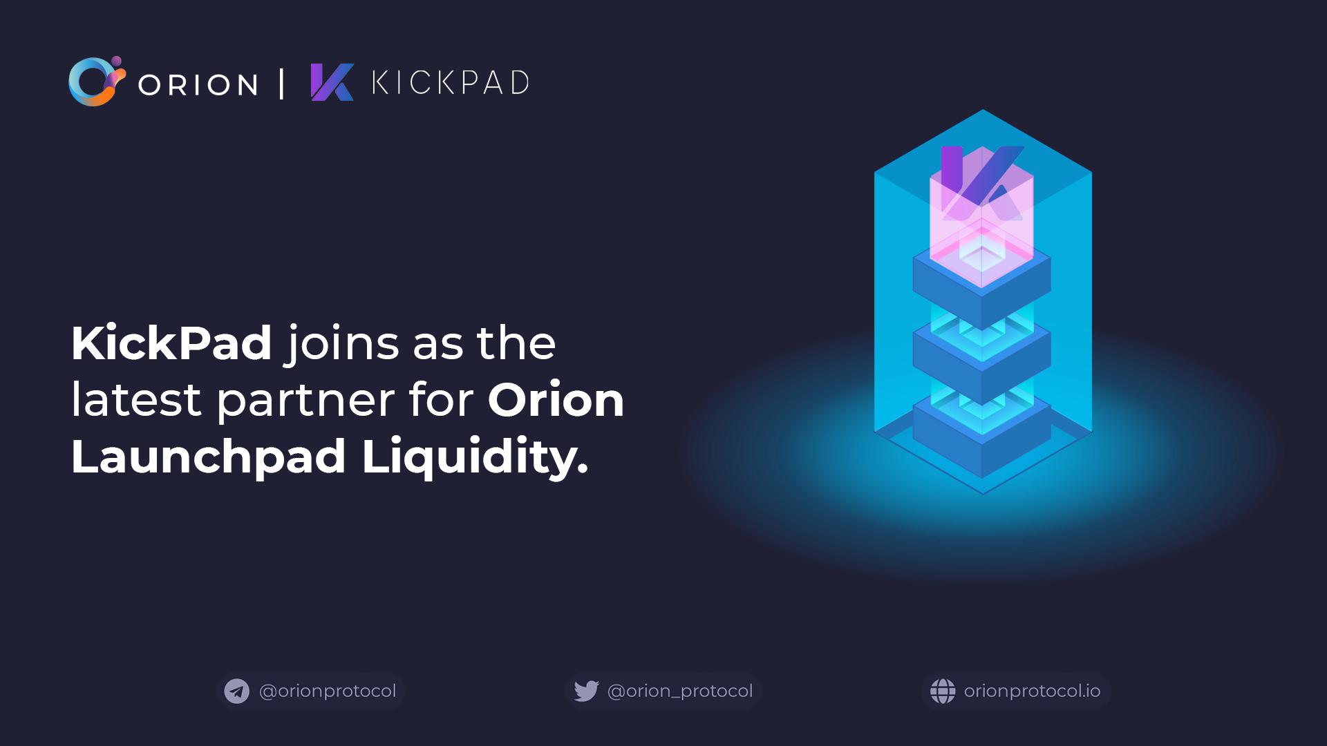 KickPAD joins as Launchpad Liquidity partner