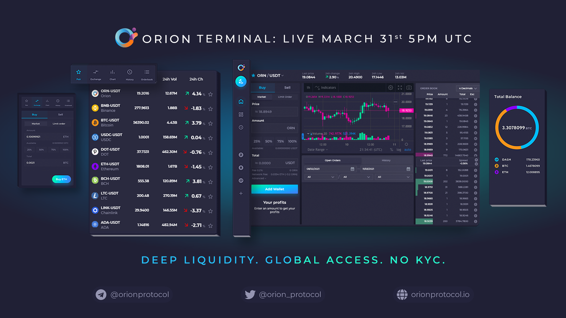 Orion Terminal is almost here.