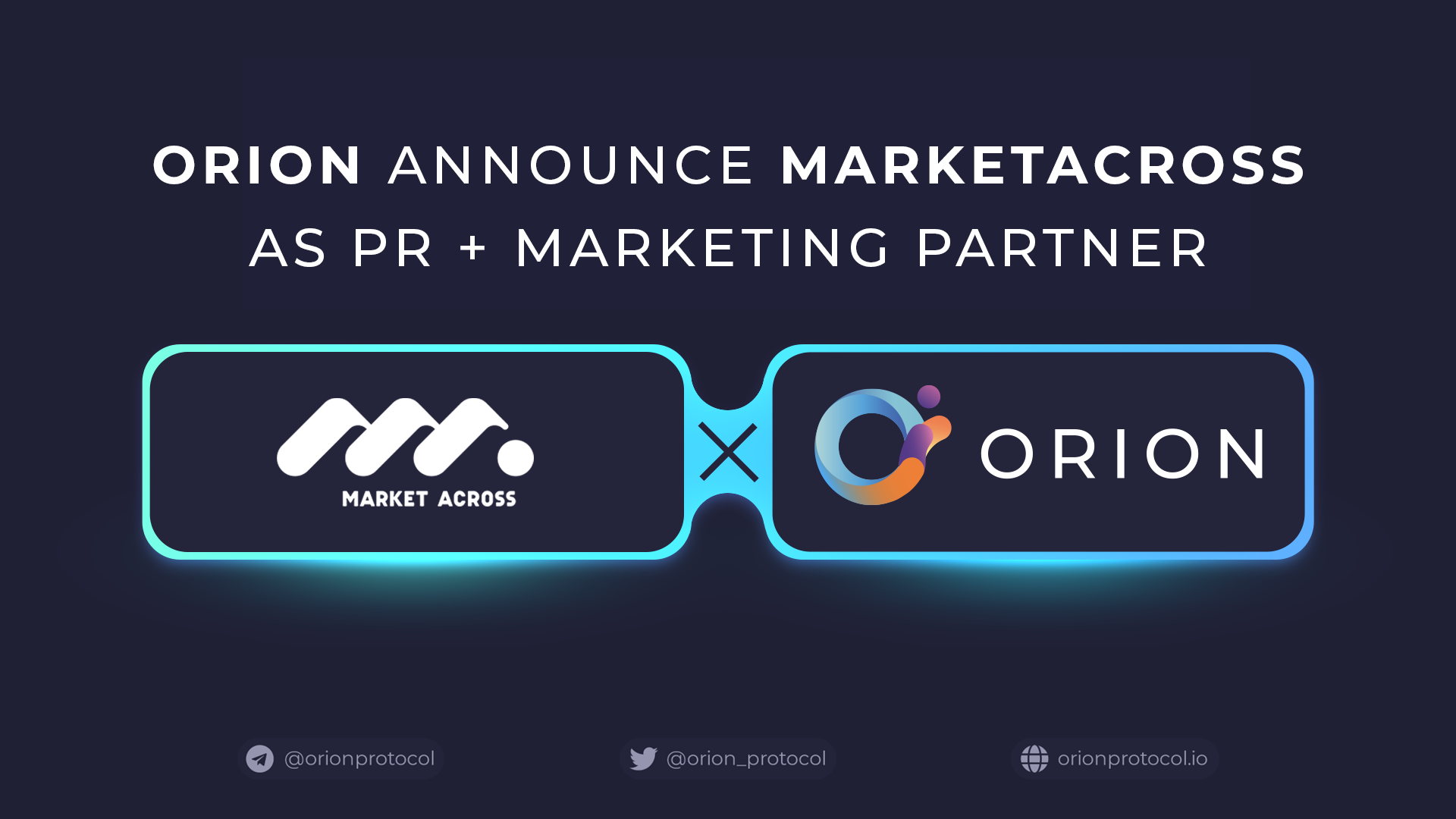 Orion Partners With MarketAcross