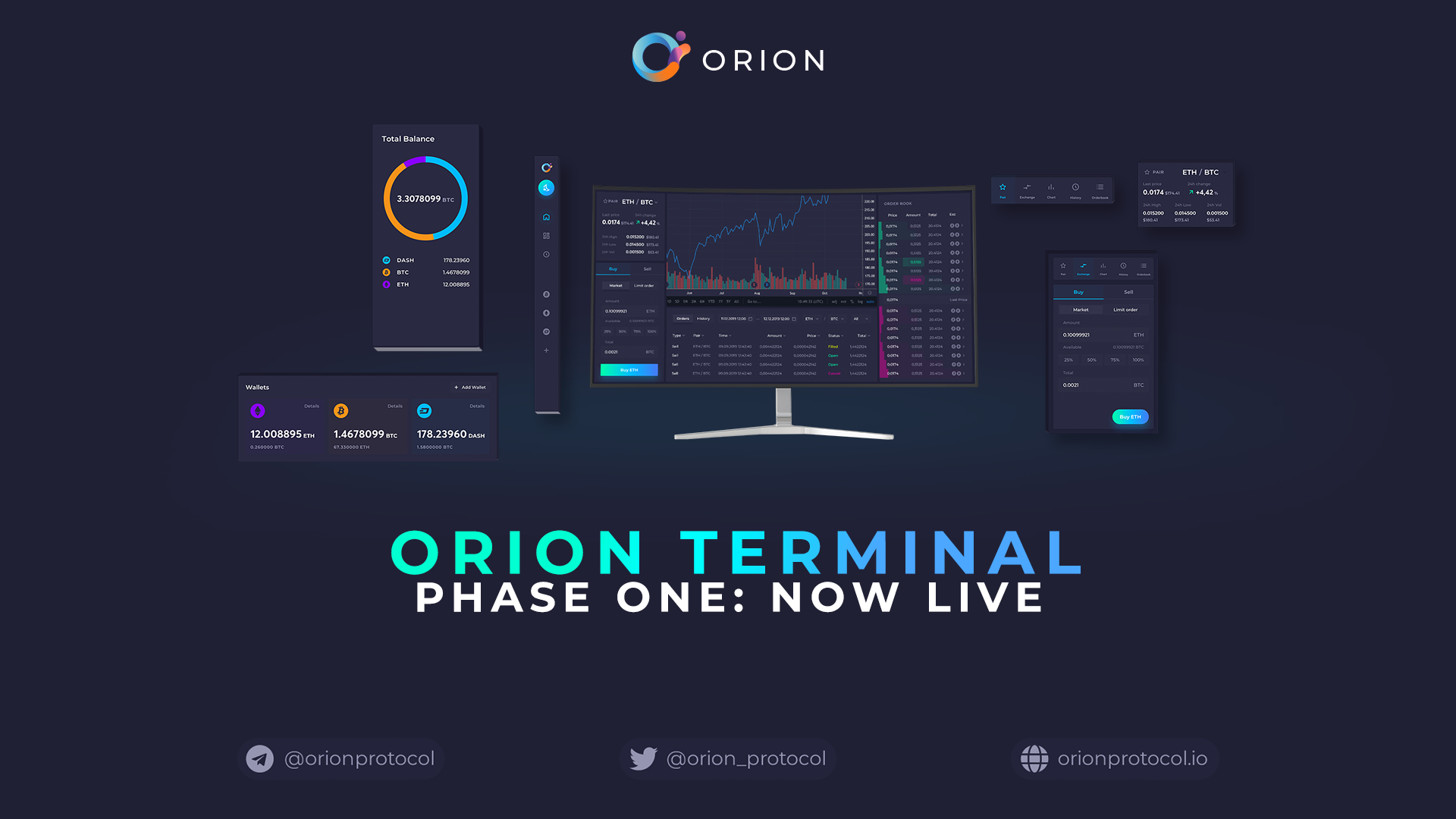 Orion Terminal: Phase One is Live