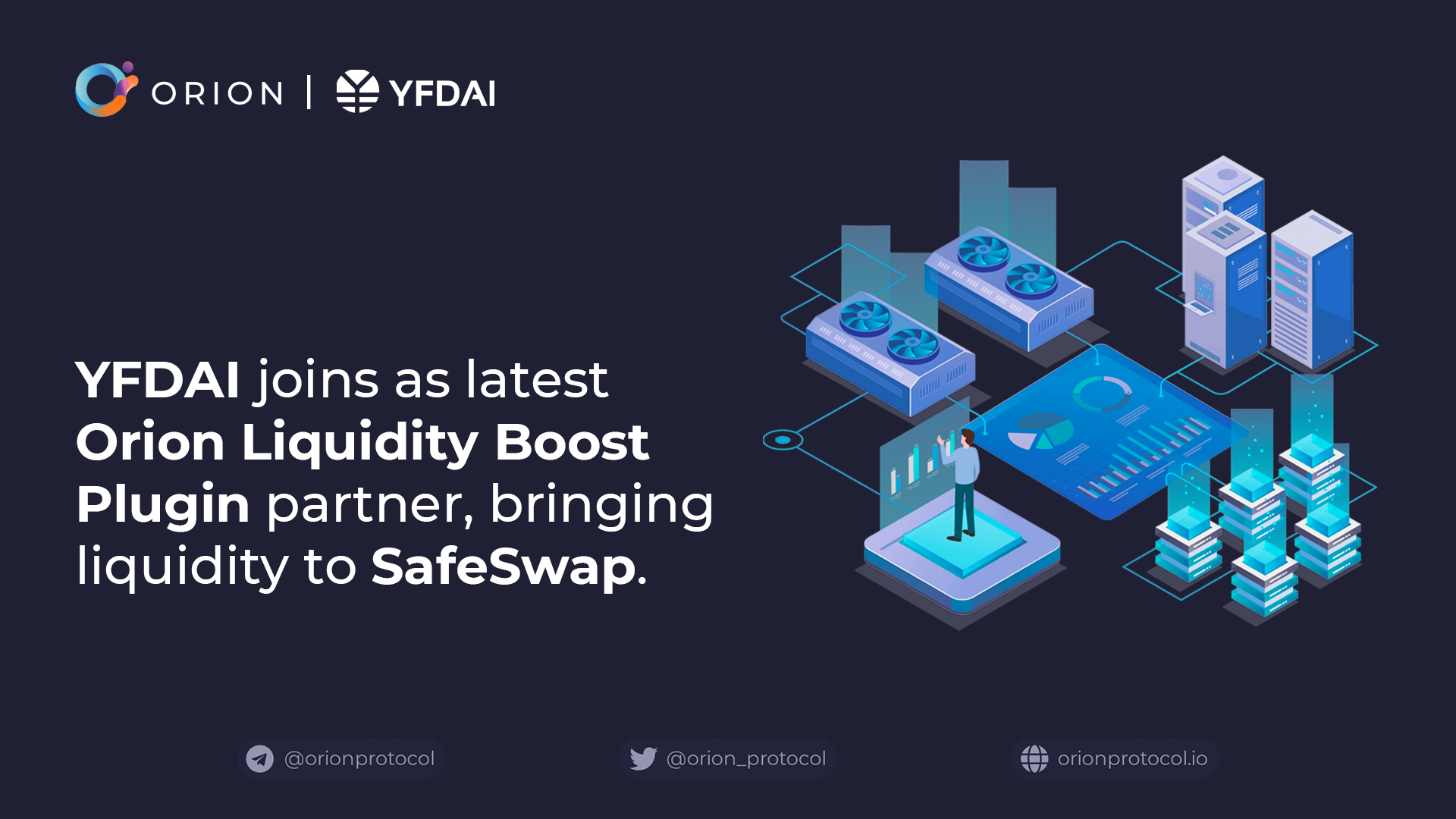 YFDAI joins as Liquidity Boost Plugin partner