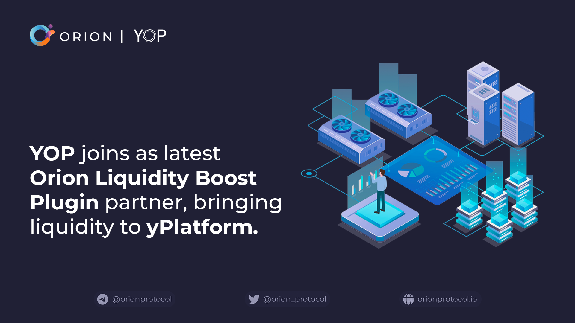 YOP joins as Liquidity Boost Plugin partner